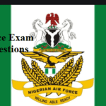Nigerian Airforce Past Questions and Answers