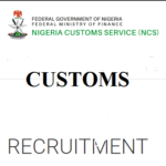 Customs recruitment