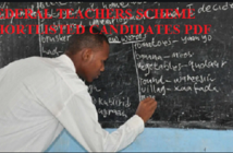 Federal Teachers Scheme Shortlisted Candidates