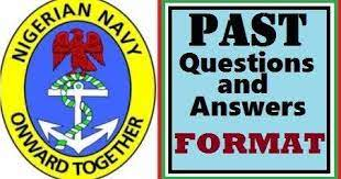 Nigerian Navy Past Questions and Answers 1