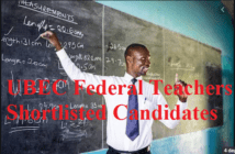 UBEC Federal Teachers Shortlisted Candidates