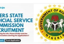 Rivers State Judicial Service Commission Recruitment