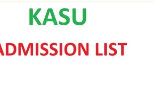 Kasu Admission List