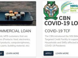 NIRSAL MFB Loan Application Form