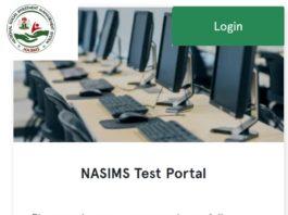 NASIMS Test Portal