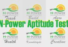 npower test questions and answer
