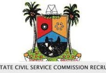 Lagos State Civil Service Commission Recruitment