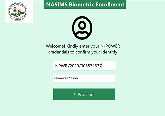 NASIMS Biometric Enrollment