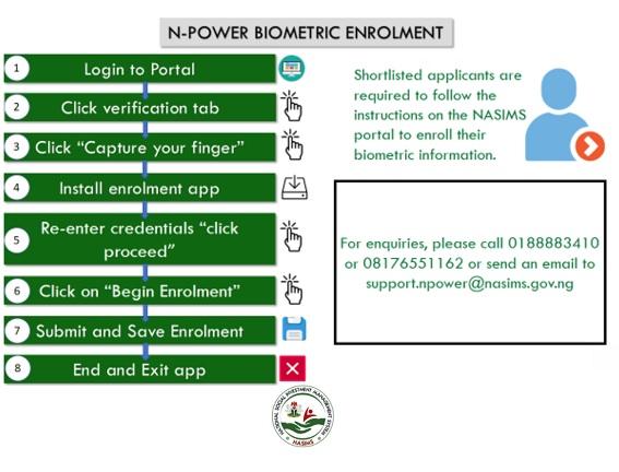npower biometric enrollment