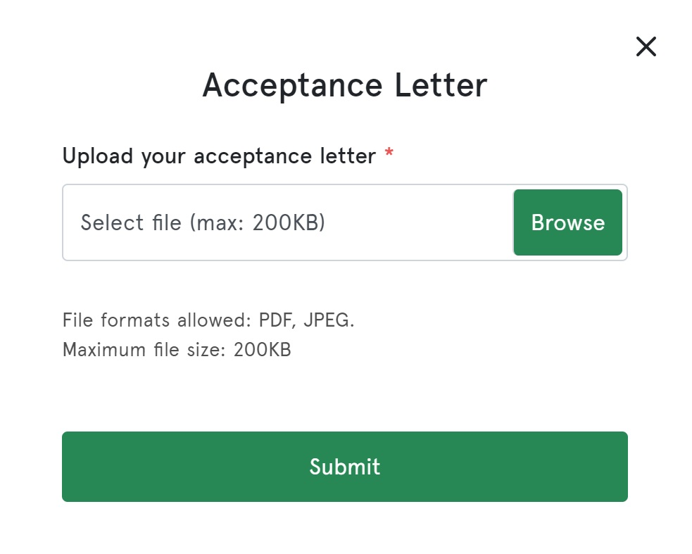 How to Upload Npower Acceptance Letter