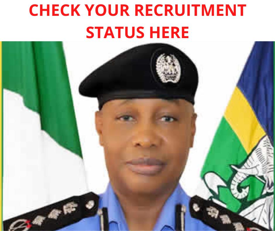 Check Police Recruitment Status